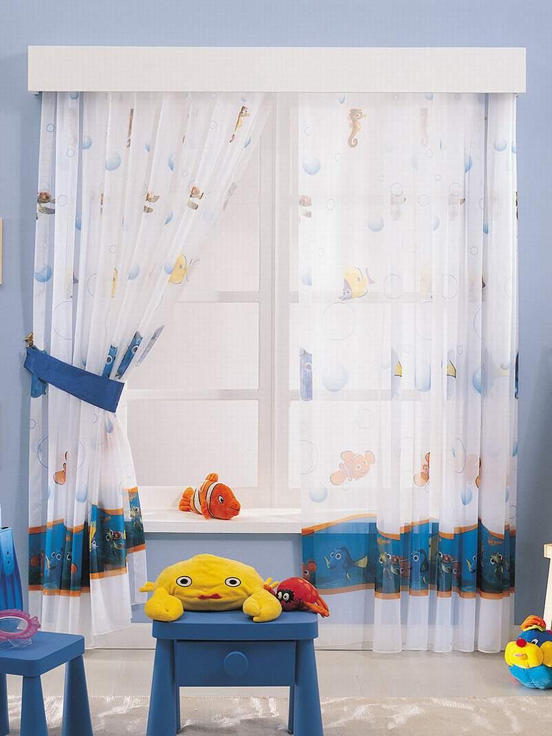 Шторы для детской комнаты 8
