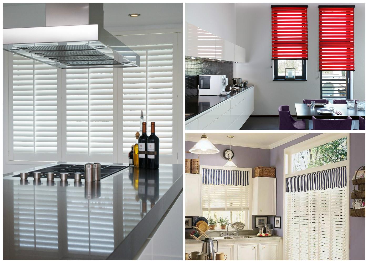 Шторы для кухни с балконом - 3