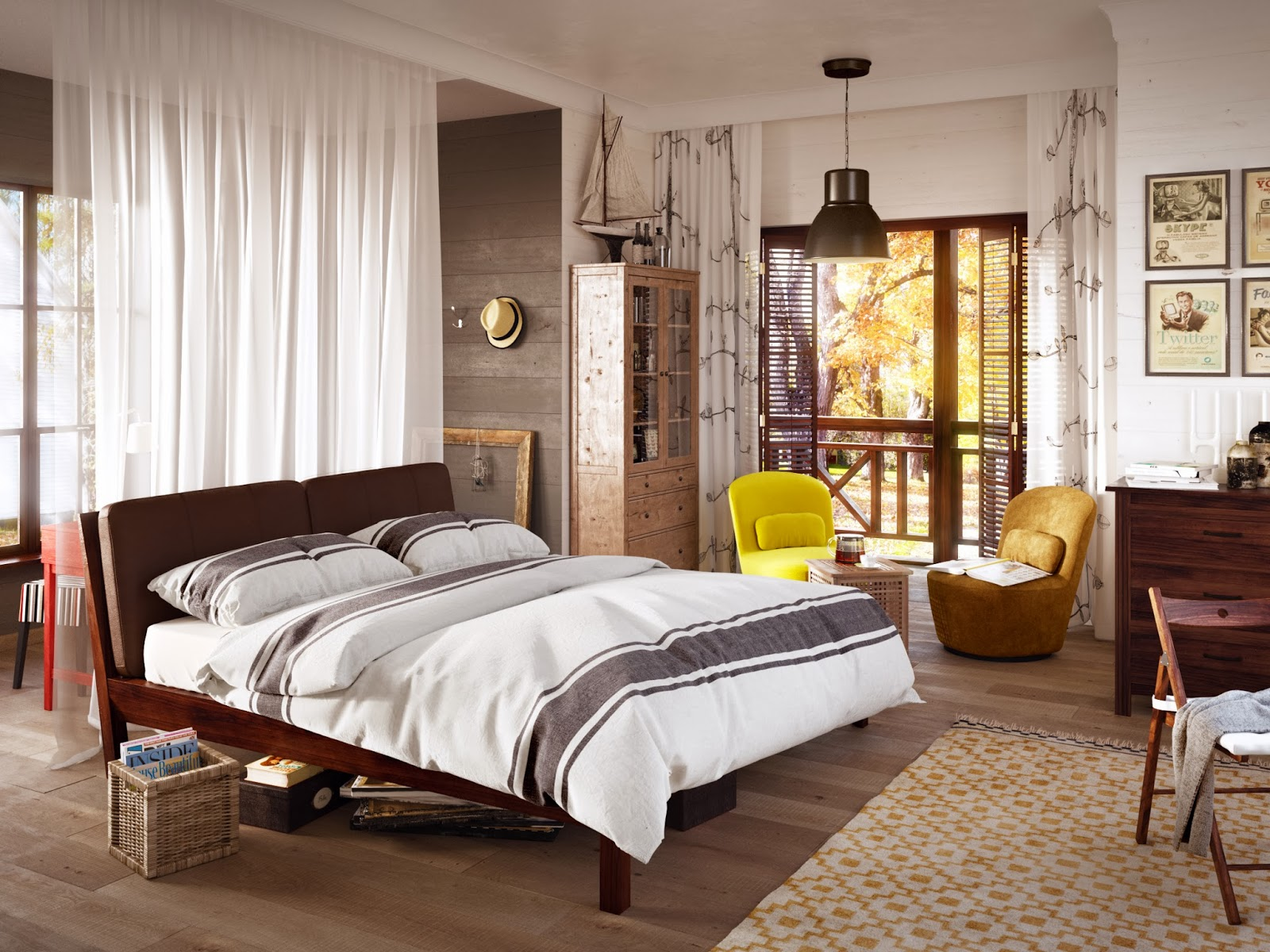 Шторы для спальни - лучший дизайн 2020 года