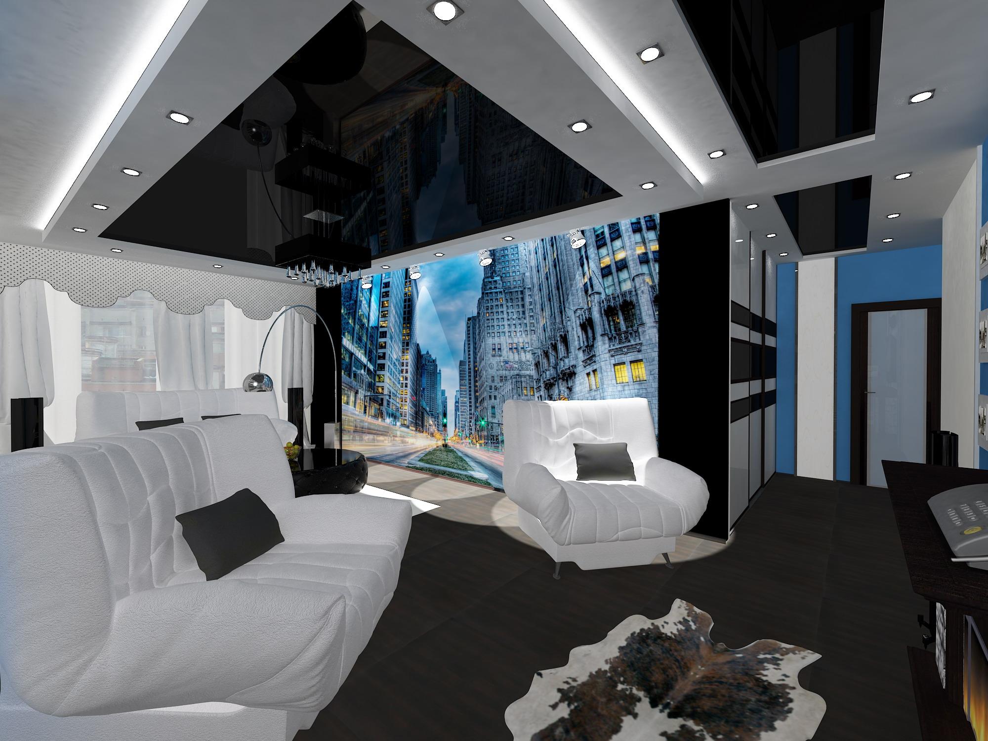 дизайна квартиры 60 кв. м 5