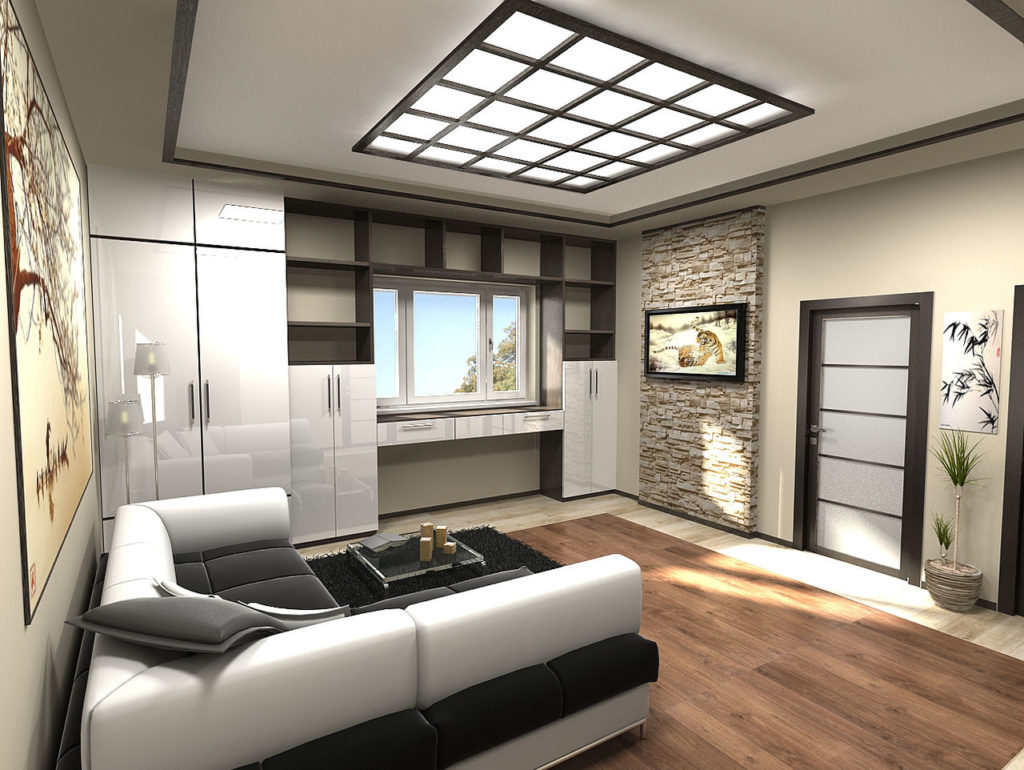 Примеры и варианты планировки квартиры студии