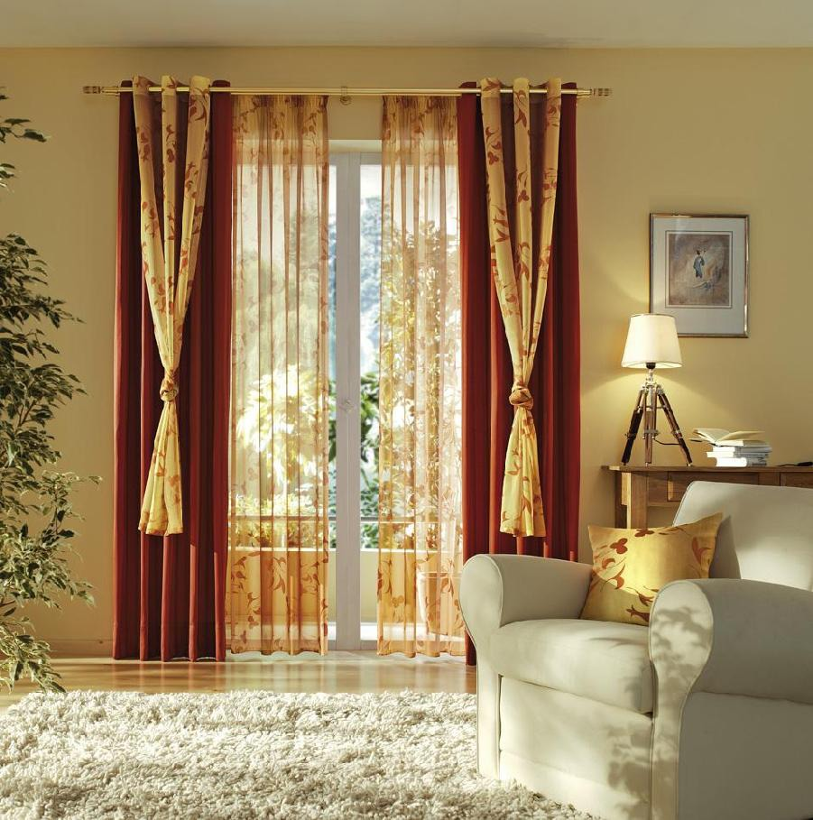 шторы в гостиную - 4