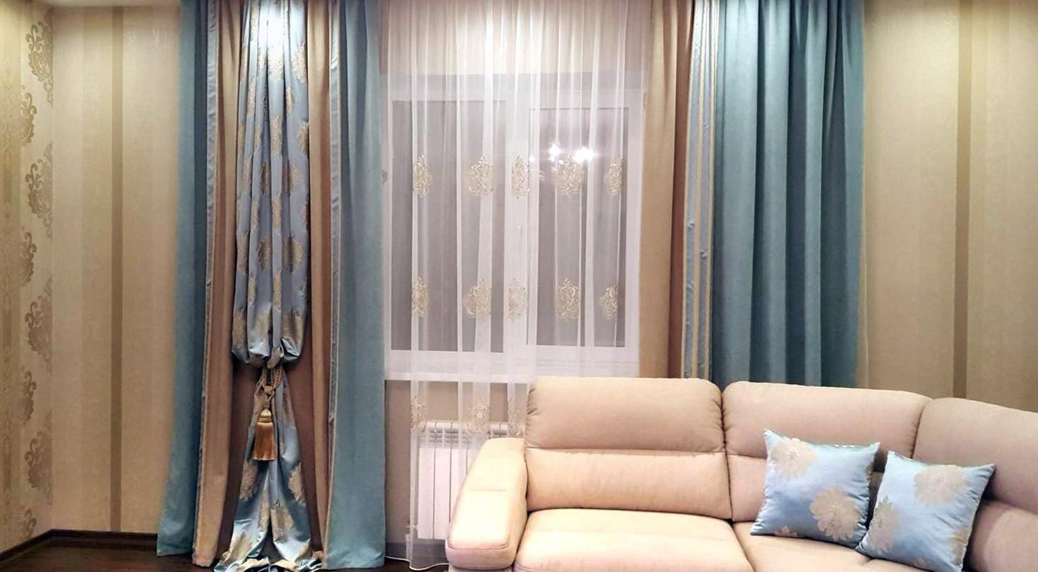 шторы в гостиную - 6
