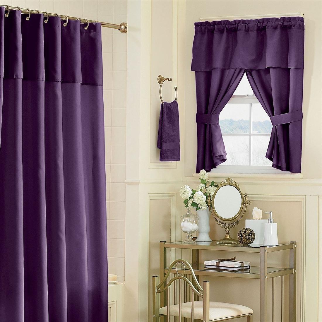 шторы из таки для ванной 2