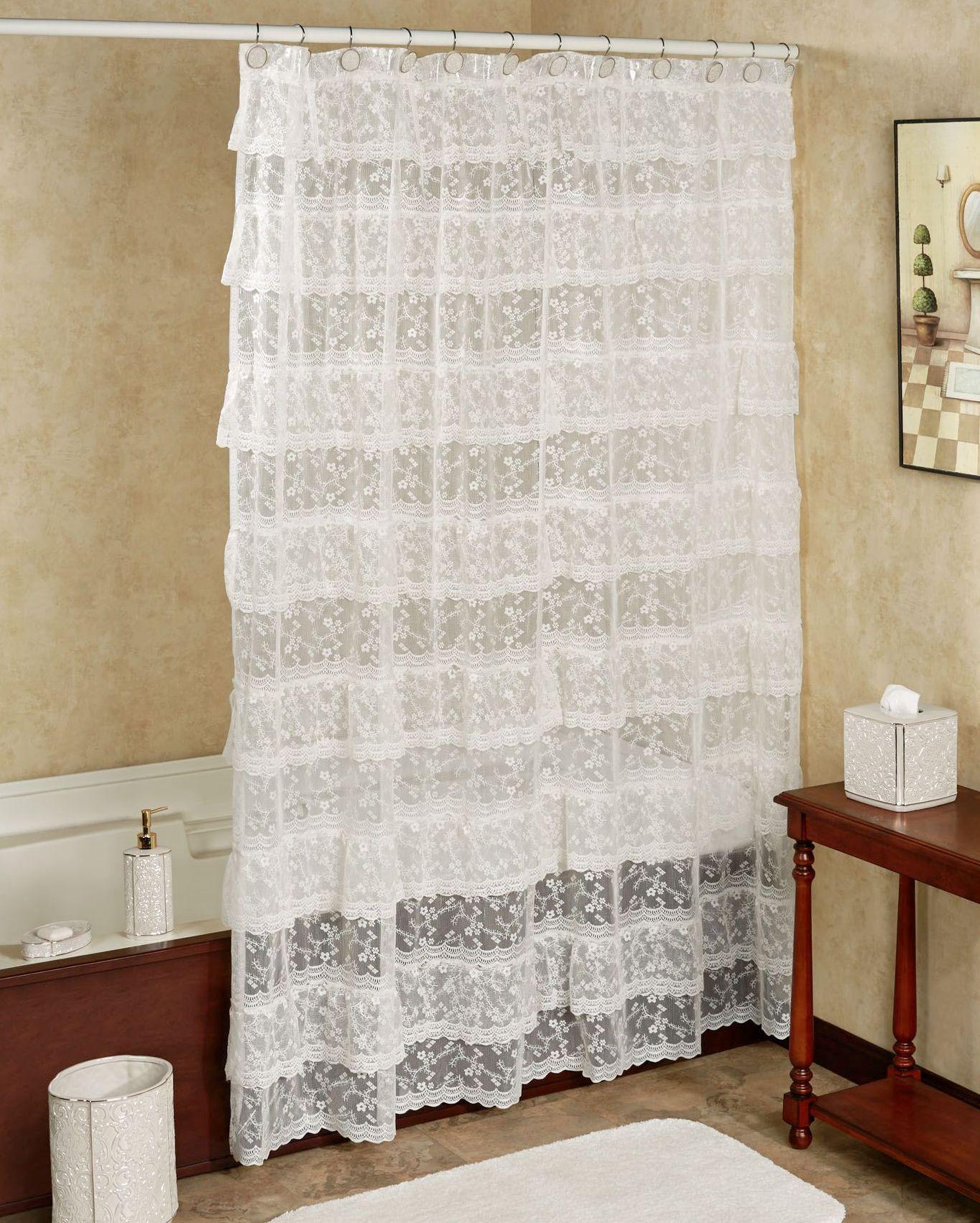 шторы из таки для ванной 3