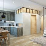 Дизайн 3-комнатной квартиры 67 кв.м.