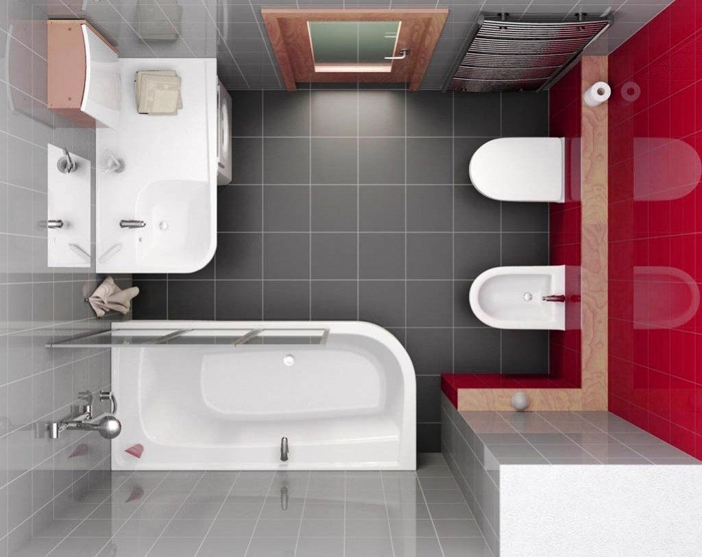 Дизайн ванны 3.2 кв м