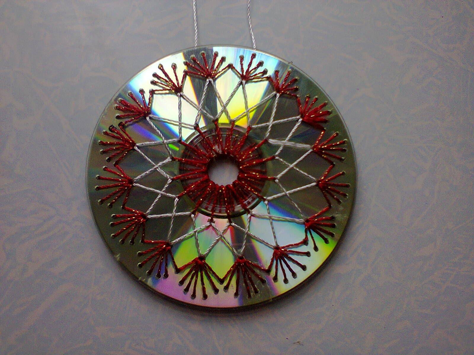 Красивые поделки своими руками из сд дисков