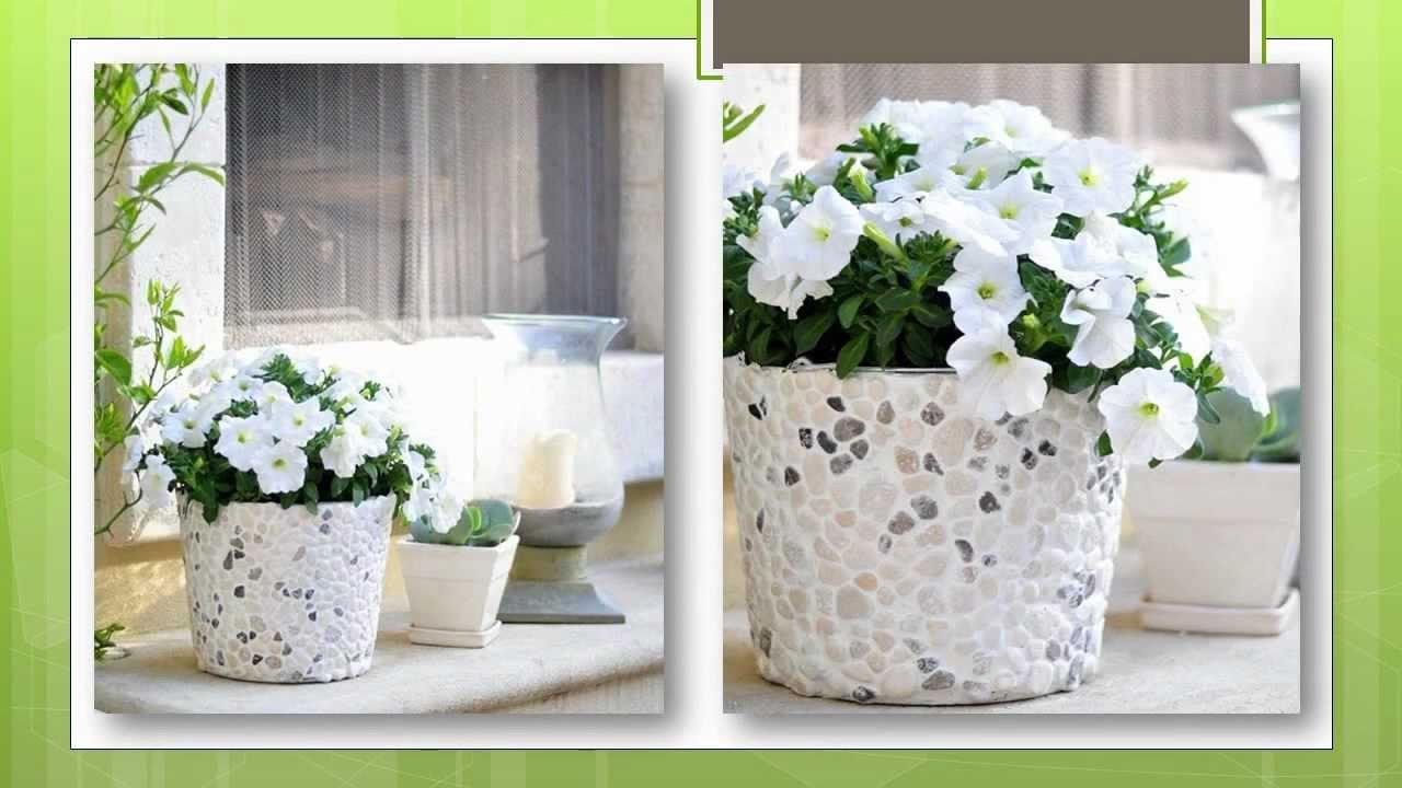 Как украсить цветочный горшок своими руками фото 486