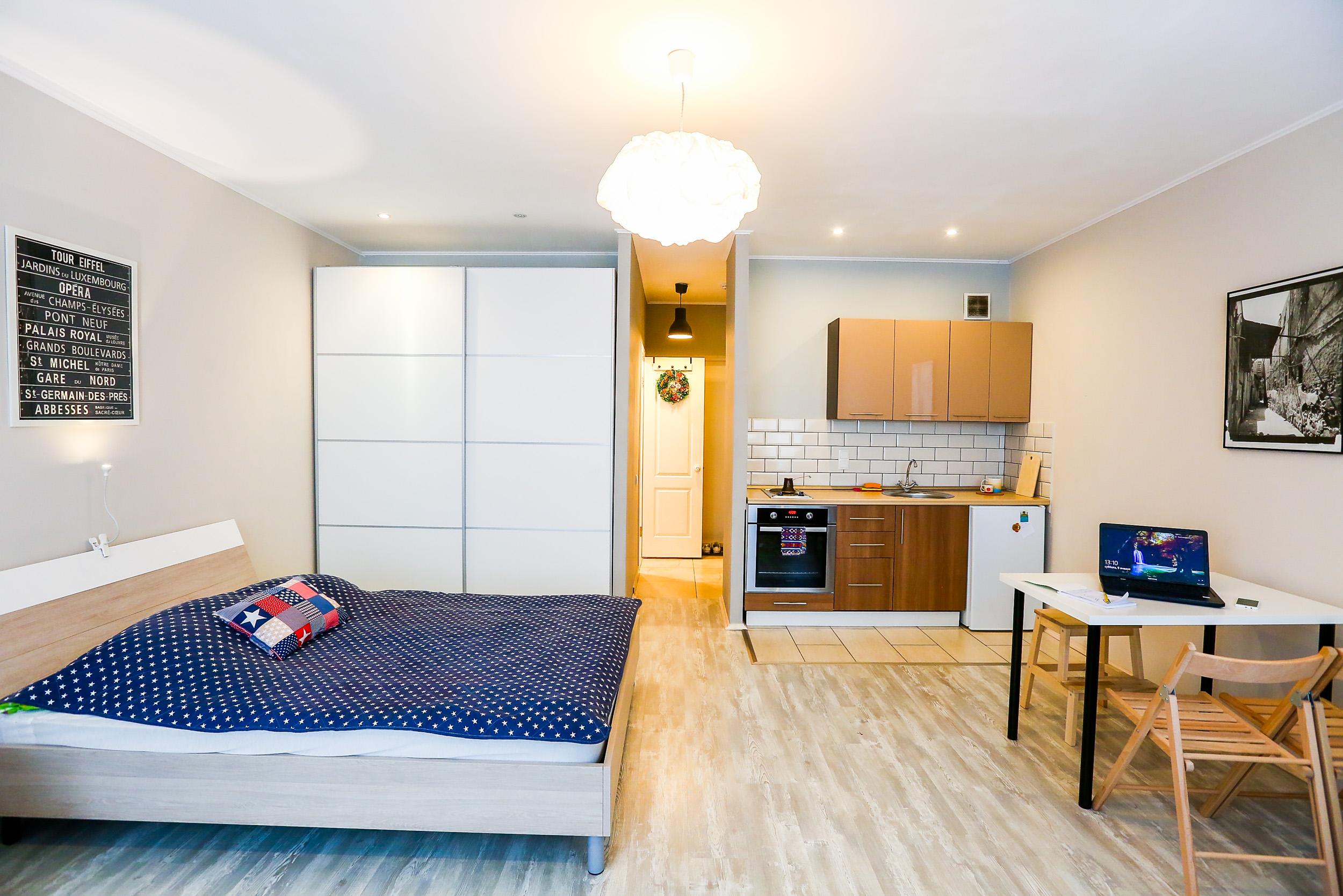 Дизайн квартиры 35 квадратов