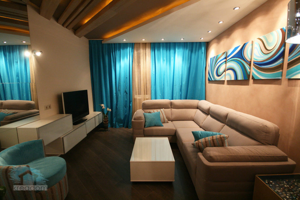 Прямоугольные комнаты дизайн фото
