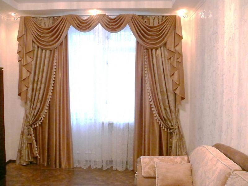 Класические-шторы-для-гостиной