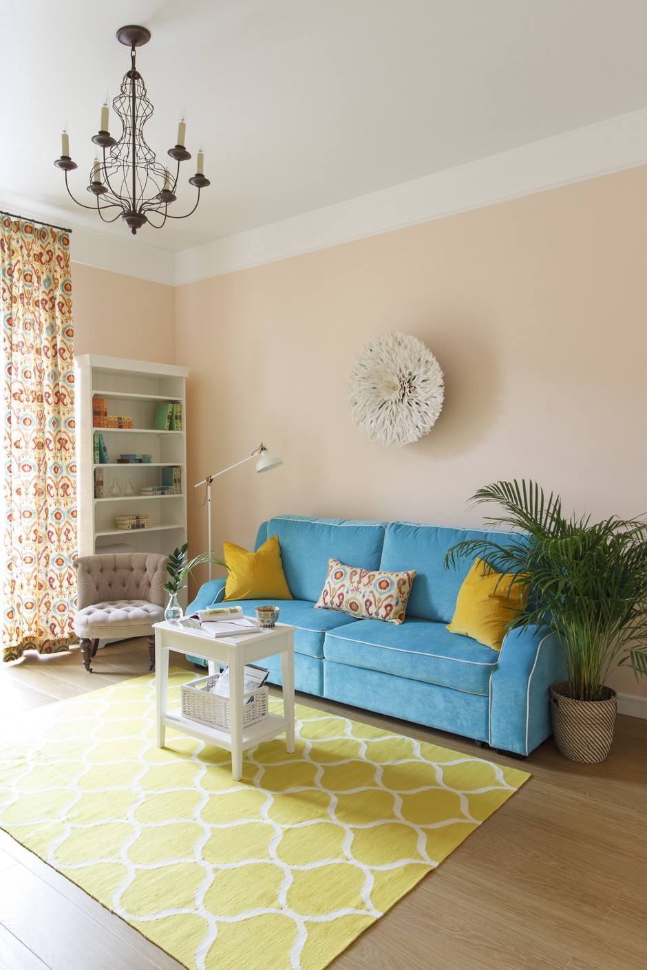 Living room textiles