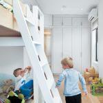 Шкаф-в-интерьере-узкой-детской-3
