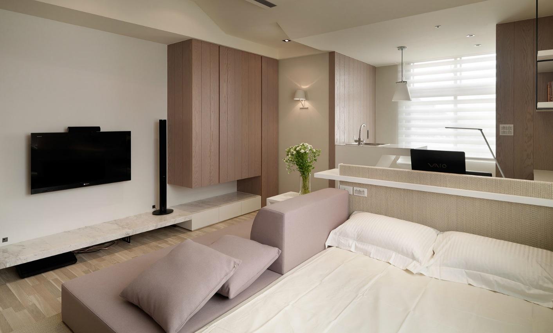 Дизайн квартиры студии - 100 фото идей практичного и удобного интерьера