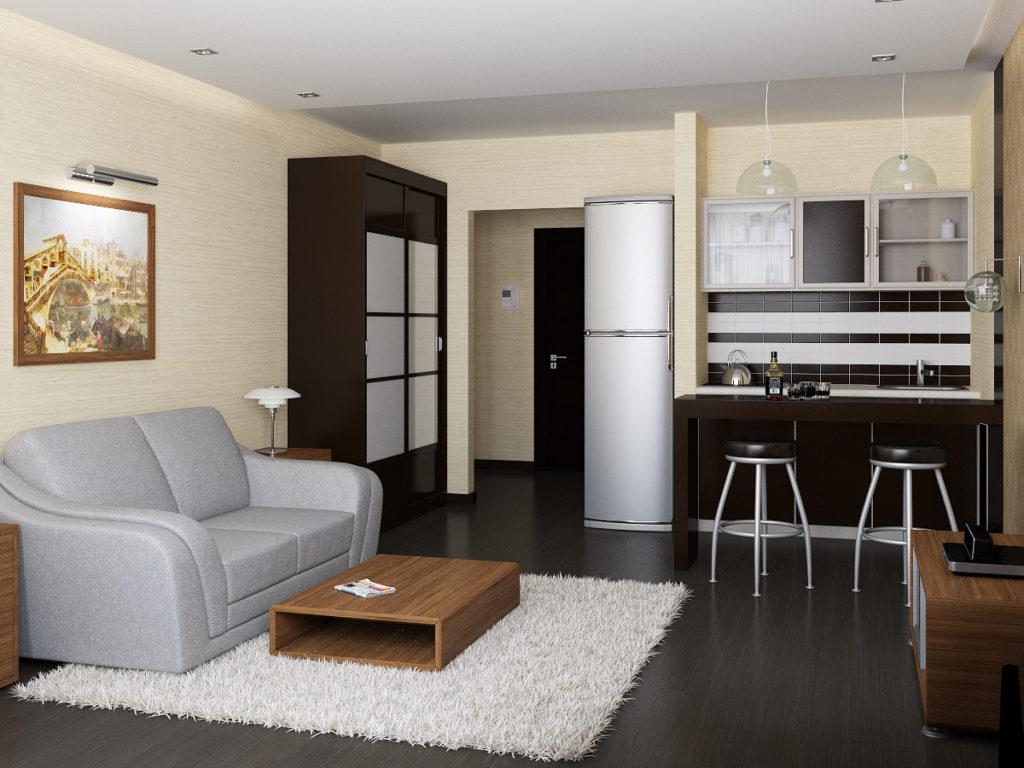 Идеи интерьера для маленьких квартир 40 кв.м фото планировка
