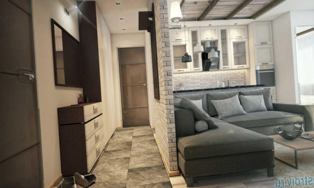 Перепланировка Дизайн квартиры в стиле современная