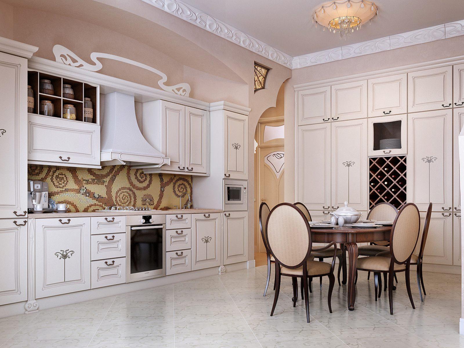 dizajn-interera-kukhni-stolovoj-v-klassicheskom-stile48