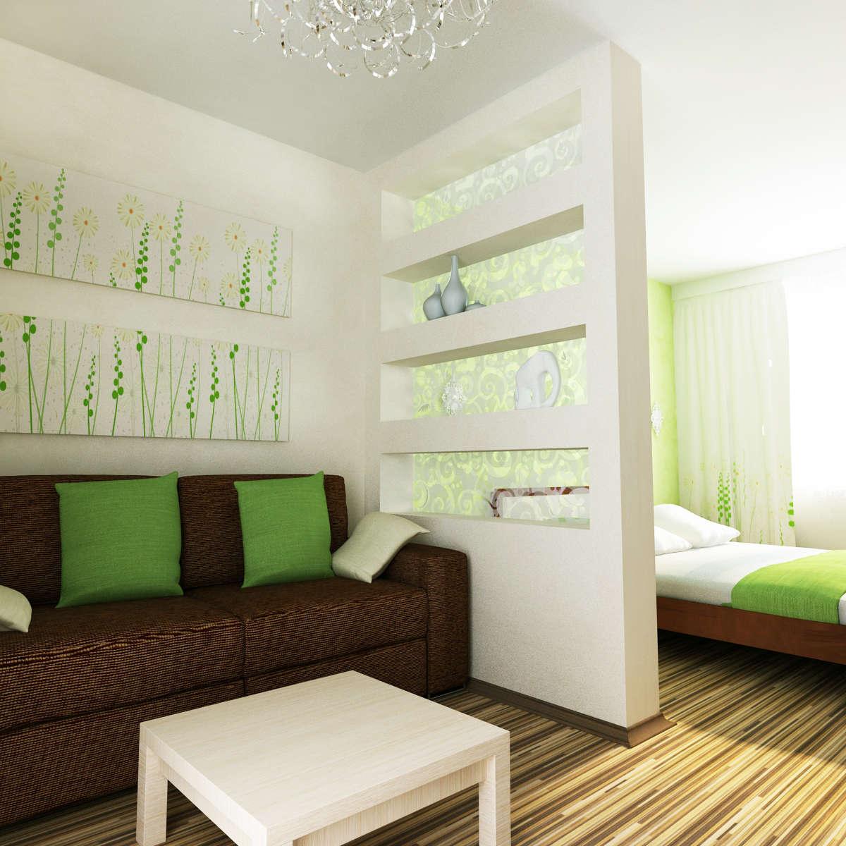 Идея для квадратной комнаты