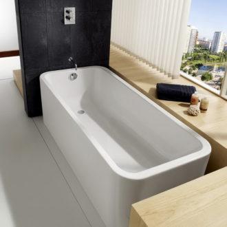 Акриловая ванна — незаменимая часть современного дома (25 фото в интерьере)