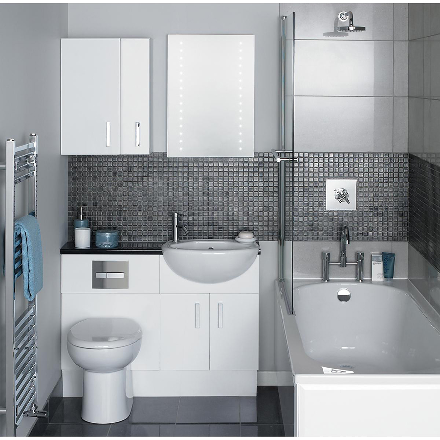 дизайн маленькой ванной комнаты 2