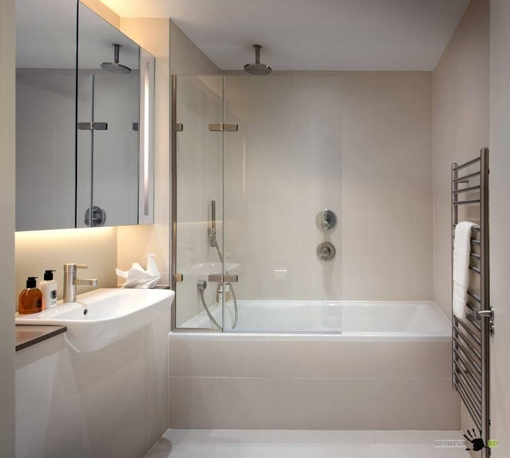Системы для ванных комнат Скрытая часть термостат для ванны, цвет: хром