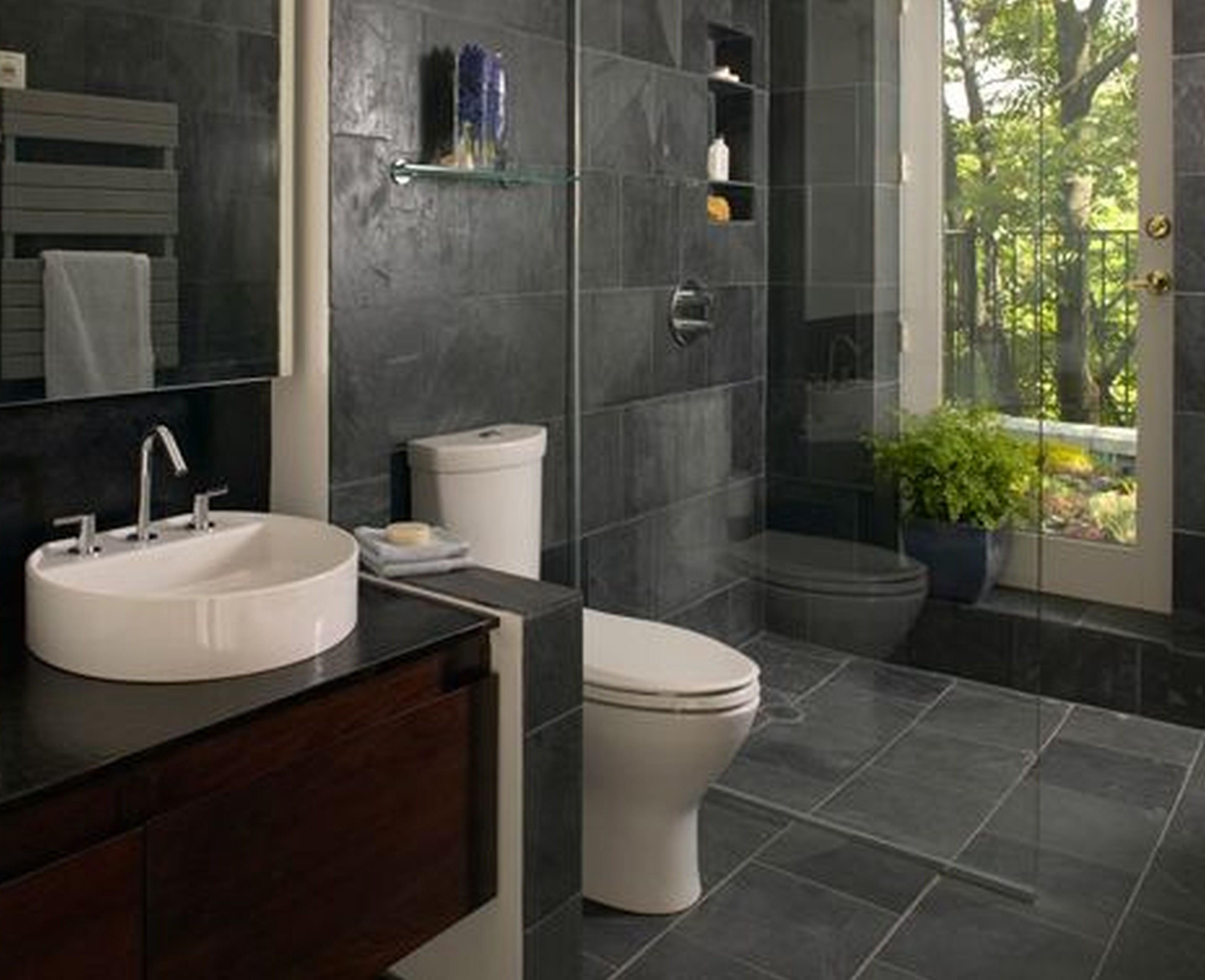 Ванная комната 2020 - выбор современного дизайна (25 фото)