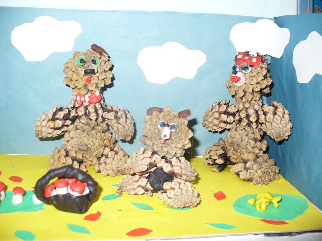 Конкурс поделок для детского сада