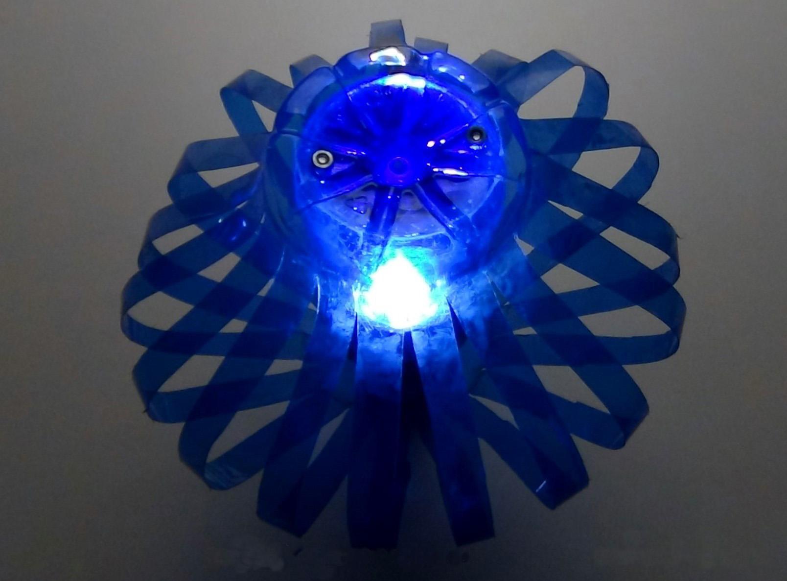 Светильник из дисков своими руками фото