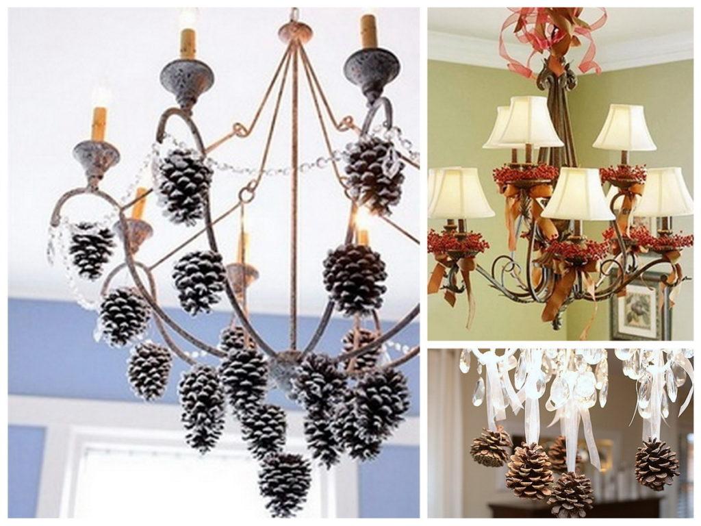 Декоративные люстры сделай своими руками 4