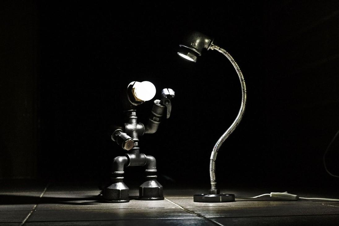 Каркас своими руками на светильник