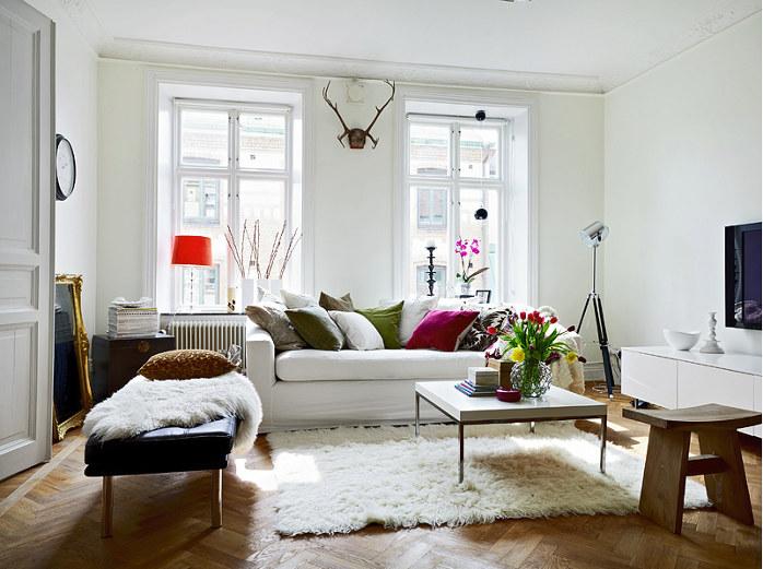 Шведский стиль Икеа в интерьере