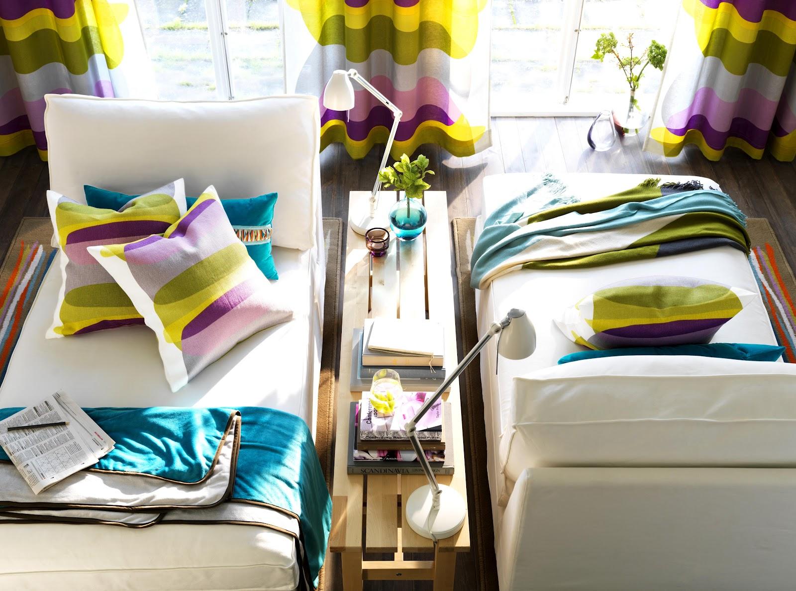 Икеа текстиль в интерьере фото