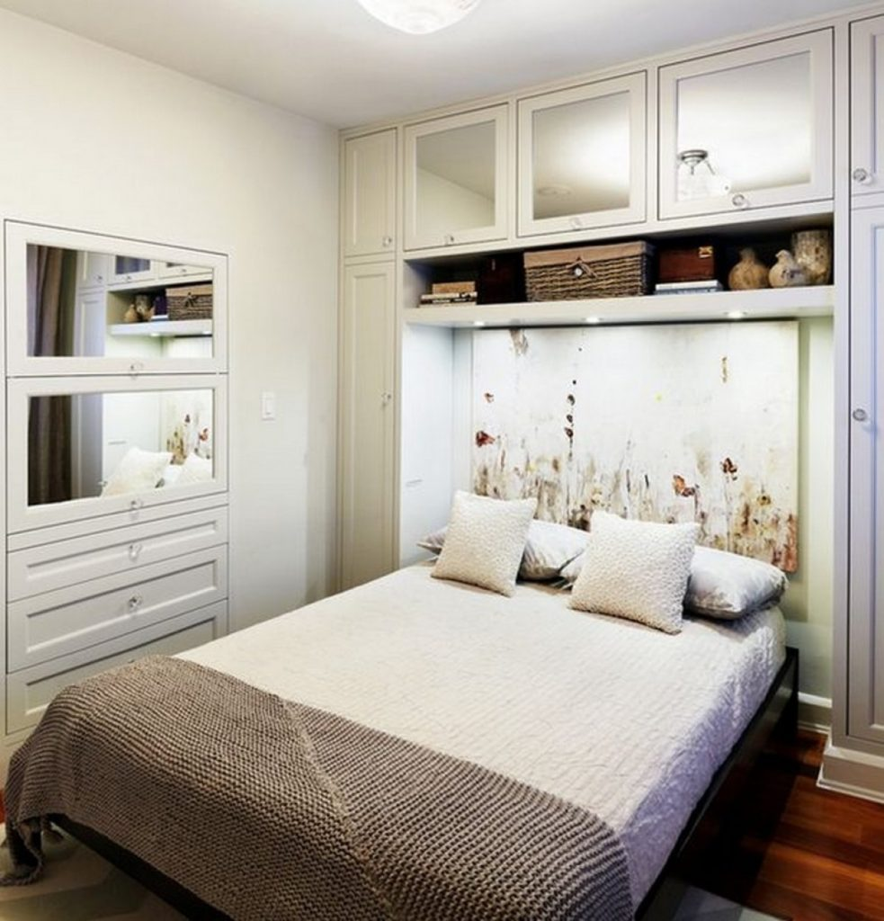 Фото идеи для маленькой спальни