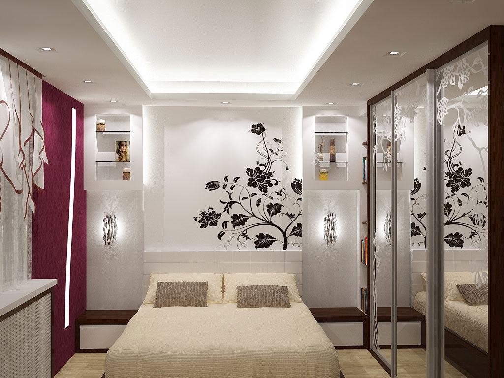 Ремонт спальни фото современный дизайн 2017
