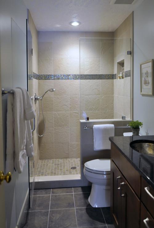 плитка для ванной комнаты для маленькой ванной