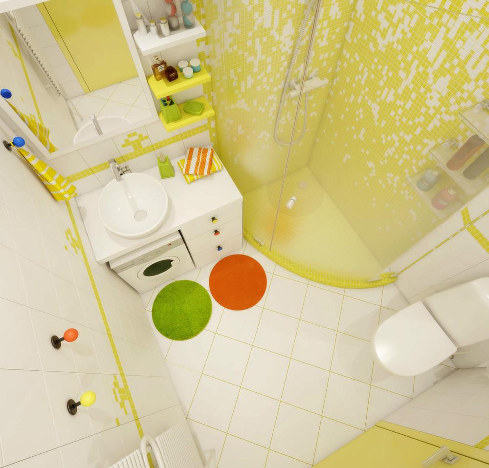 Дизайн ванной маленькой комнаты. 50 фото идей на 2020 год
