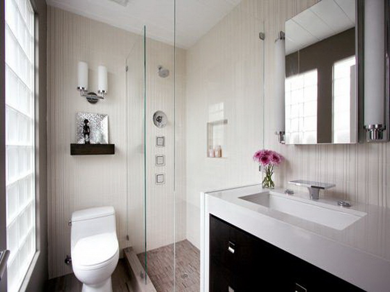 дизайн ванной маленькой комнаты фото