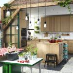 Кухни икеа в интерьере. 30 фото идей