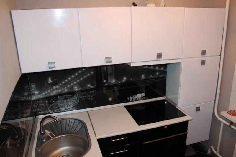 small kitchen design 5 square. m