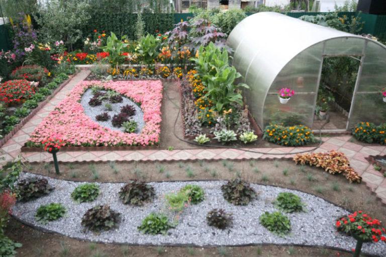 Ландшафтный дизайн своими руками фото на огороде