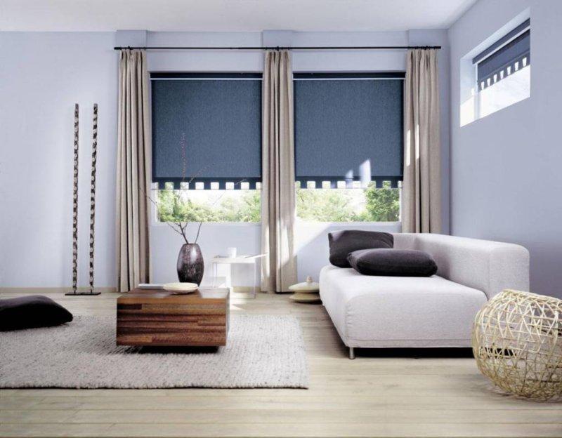 как выбрать шторы для зала
