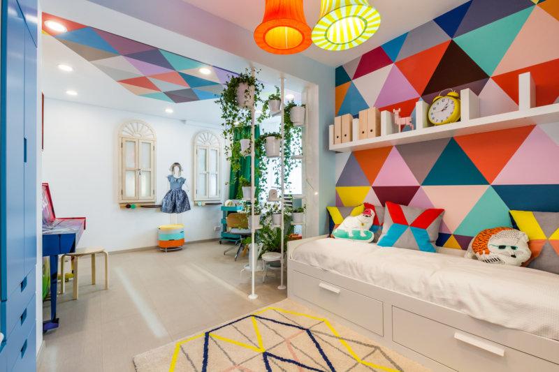 Дизайн интерьера детской комнаты от Апис плюс (фото)