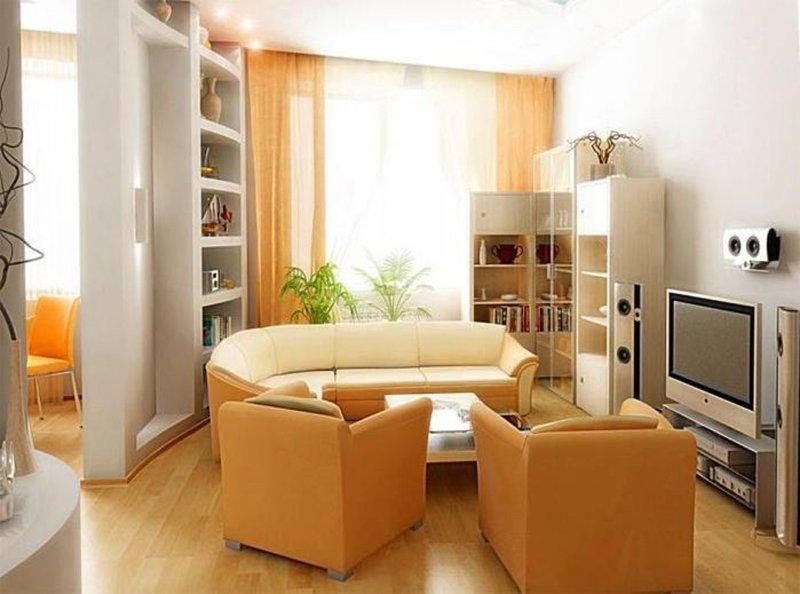 Ремонт и дизайн маленьких квартир
