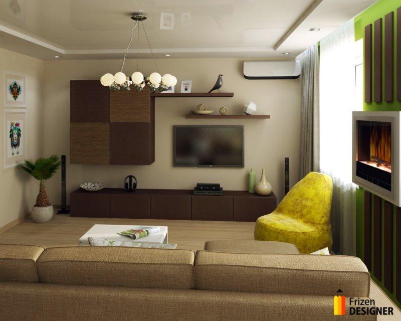 Икеа дизайн интерьера гостиной