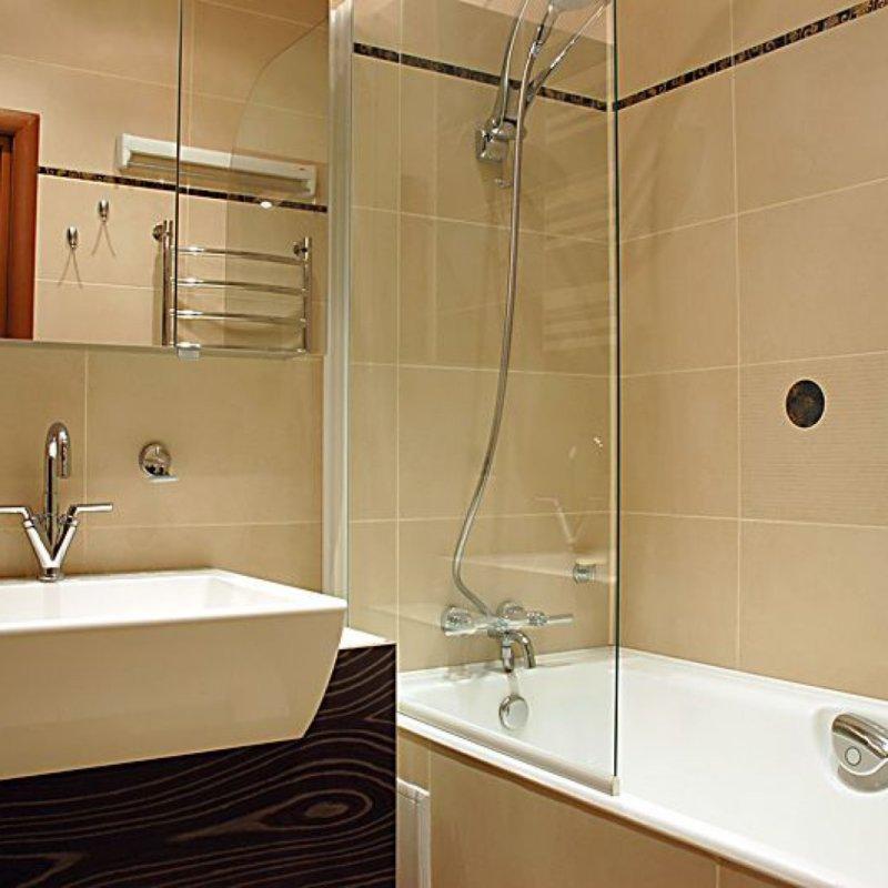 Идея для ремонта в ванной хрущёвка фото