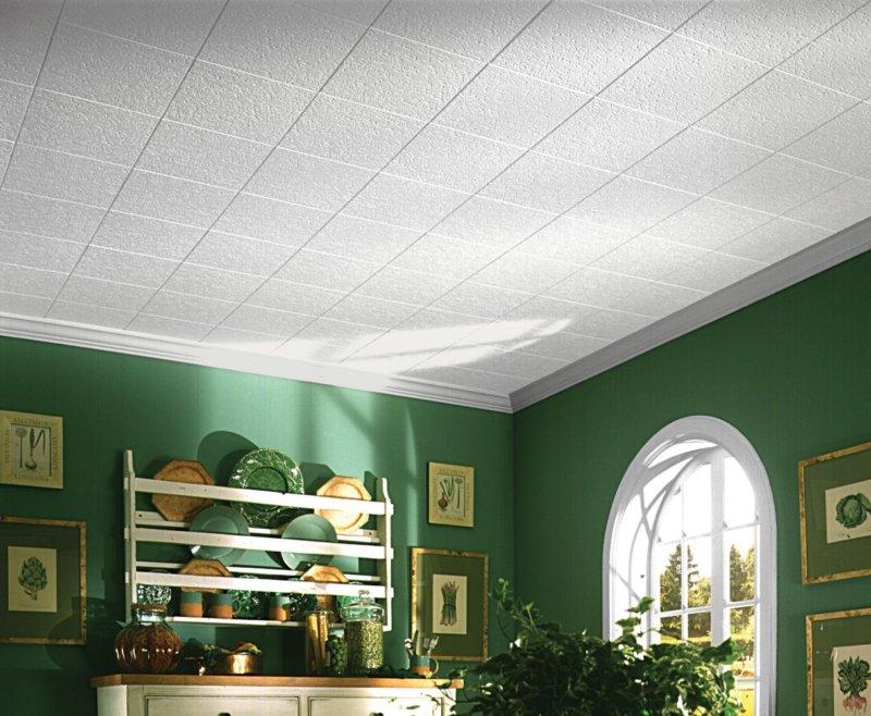 Клееные потолки