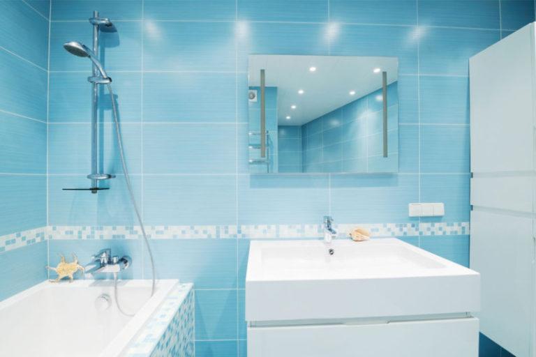 Дизайн ванной панелями в хрущевке