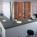 барная стойка на маленькой кухне фото