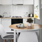 Лучшие решения 2017 года дизайн маленькой кухни 5 кв. м.